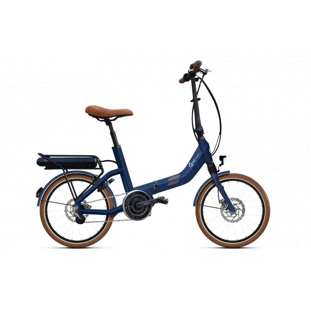 Vélo électrique pliant O2Feel SWAN FOLD N7 2018