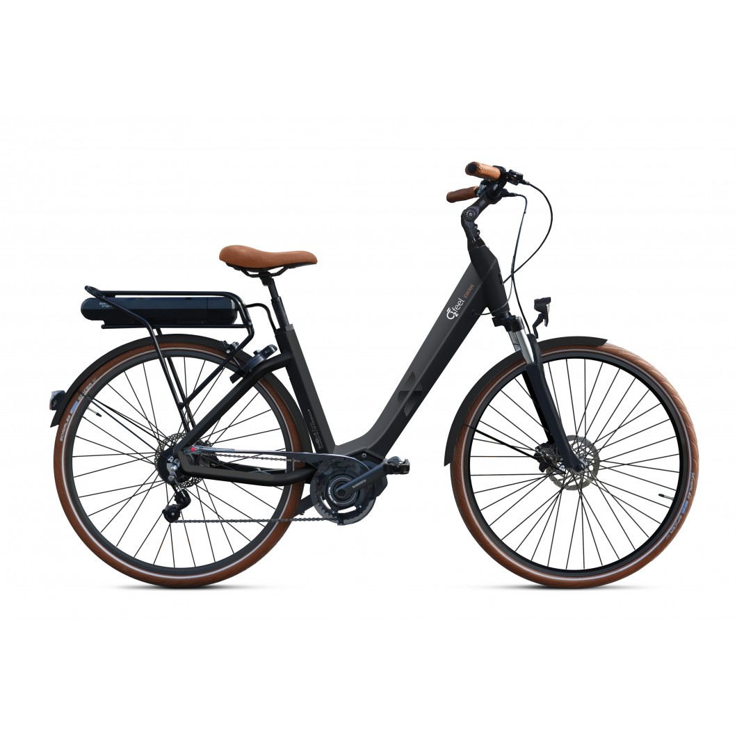 Vélo électrique O2FEEL SWAN DI2 ALFINE 8 2018