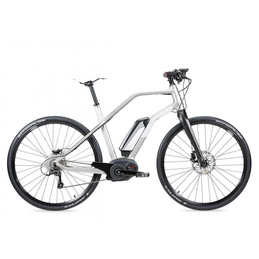 Vélo électrique Moustache DIMANCHE 28 SILVER 2016