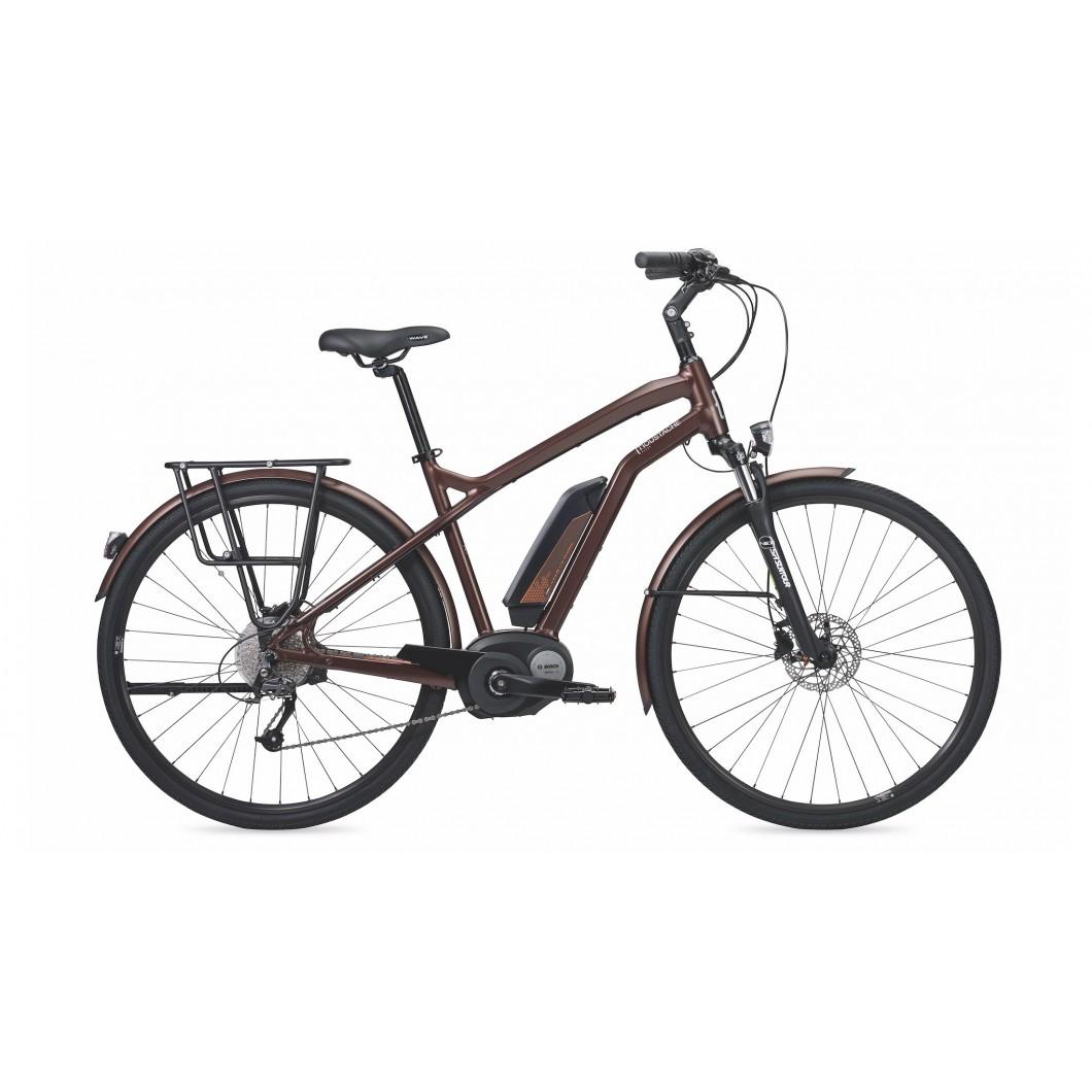 Vélo électrique MOUSTACHE SAMEDI 28 BROWN 9S 2017