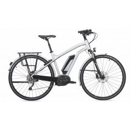 Vélo électrique MOUSTACHE SAMEDI 28 SILVER 10S 2017 VÉLO ÉLECTRIQUE CHEMIN