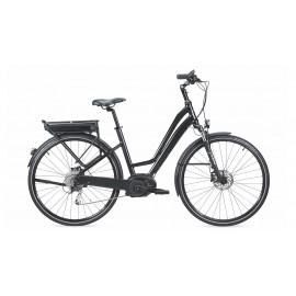 vélo électrique MOUSTACHE SAMEDI 28 BLACK OPEN 2017 VÉLO ÉLECTRIQUE CHEMIN
