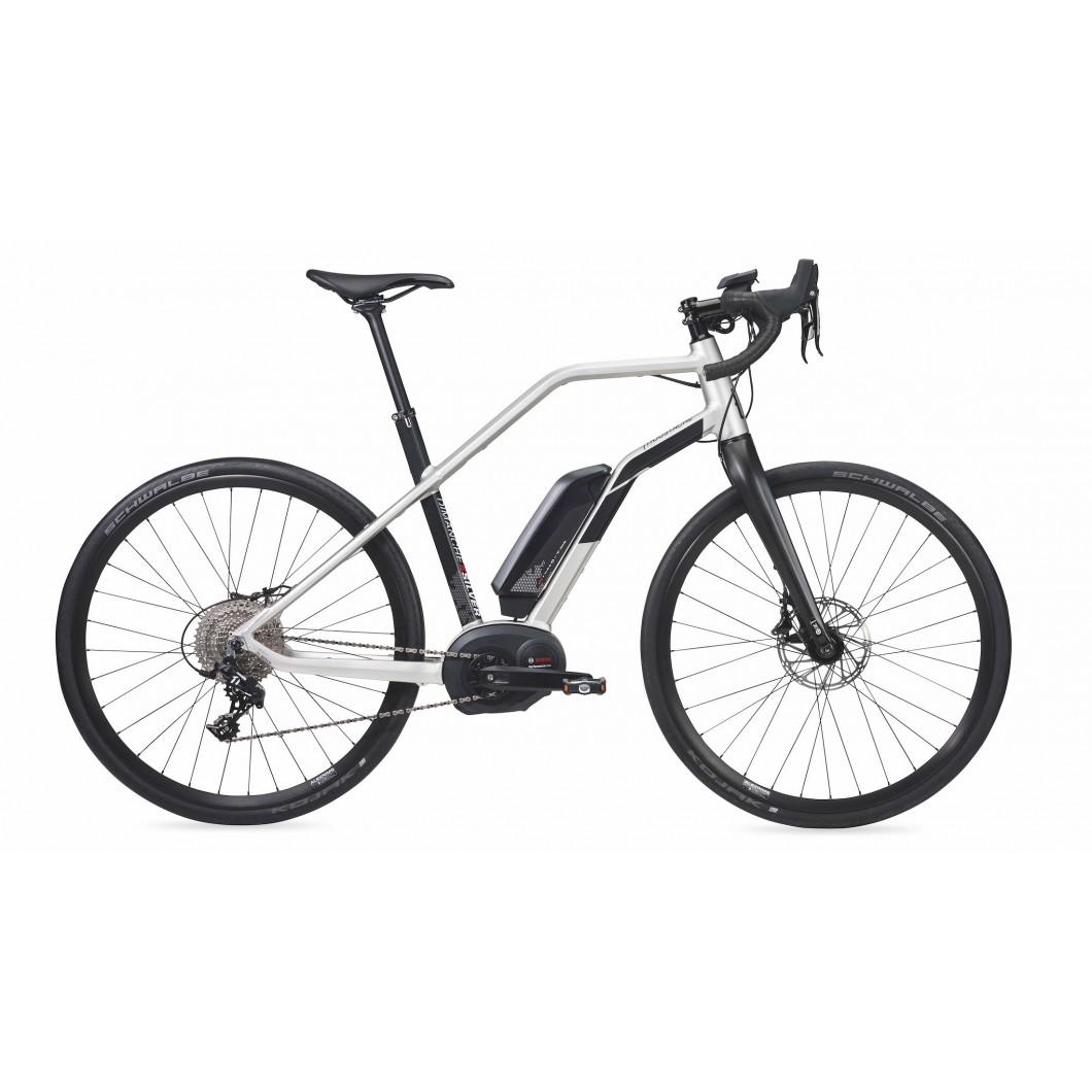 Vélo électrique MOUSTACHE DIMANCHE 28 SILVER 2017