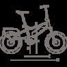 Vélo électrique Riese & Muller Tinker Nuvinci 2018