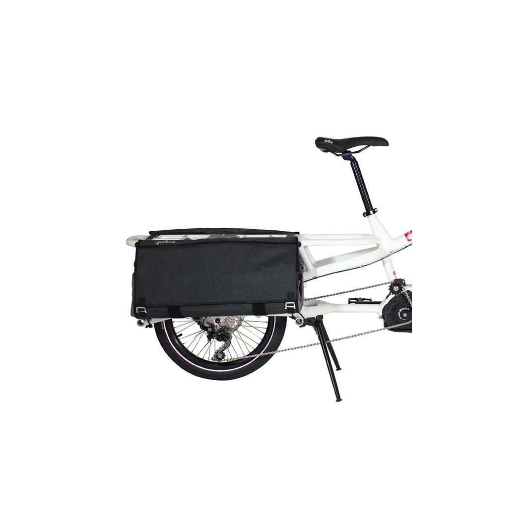 Vélo électrique rallongé cargo longtail YUBA Spicy Curry Bosch 2018