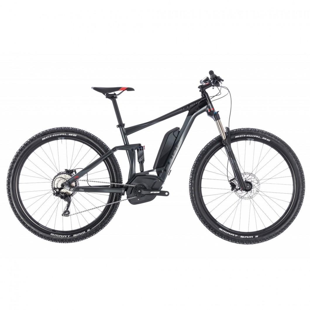 VTT ÉLECTRIQUE / VTTAE CUBE STEREO HYBRID 120 ONE 500 2018