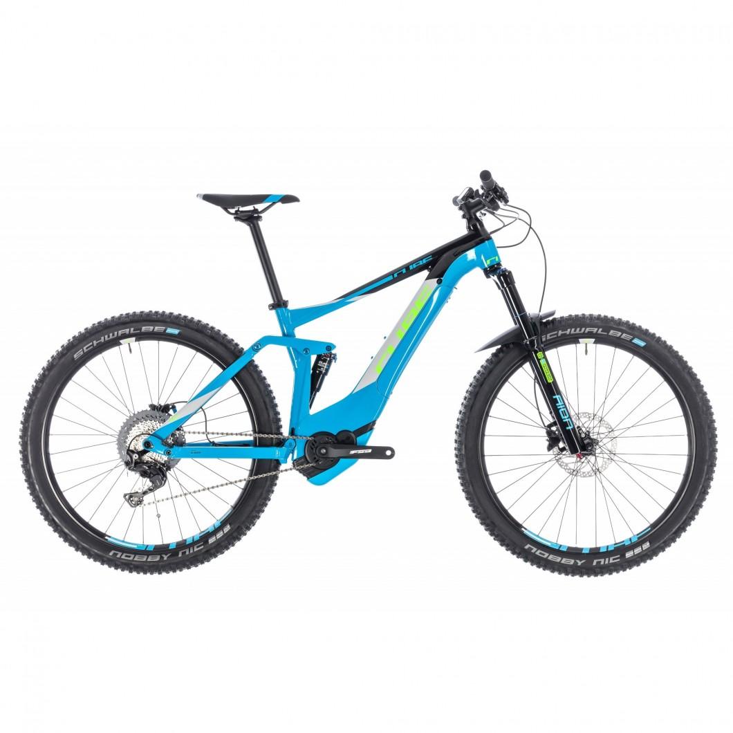 VTT ÉLECTRIQUE CUBE STEREO HYBRID 140 Pro 500 27.5 2018 • Vélozen