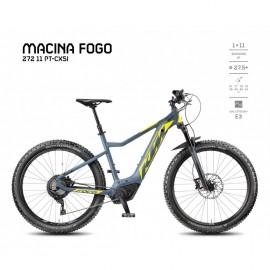 VÉLO ÉLECTRIQUE KTM MACINA FOGO 272 11 PT-CX5I 2018 VTT ÉLECTRIQUE