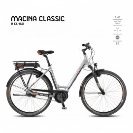 VÉLO ÉLECTRIQUE KTM MACINA CLASSIC 8 CL-A4I 2018