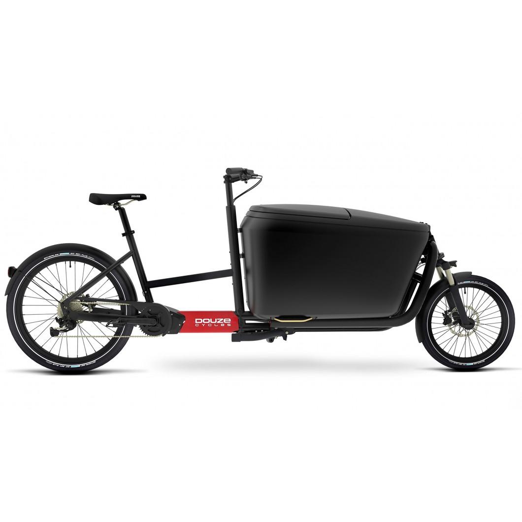 Vélo électrique cargo biporteur DOUZE Cycles G4e Brose 2019