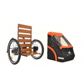 Carry'Box Kid pour AddBike REMORQUE & CHARIOT