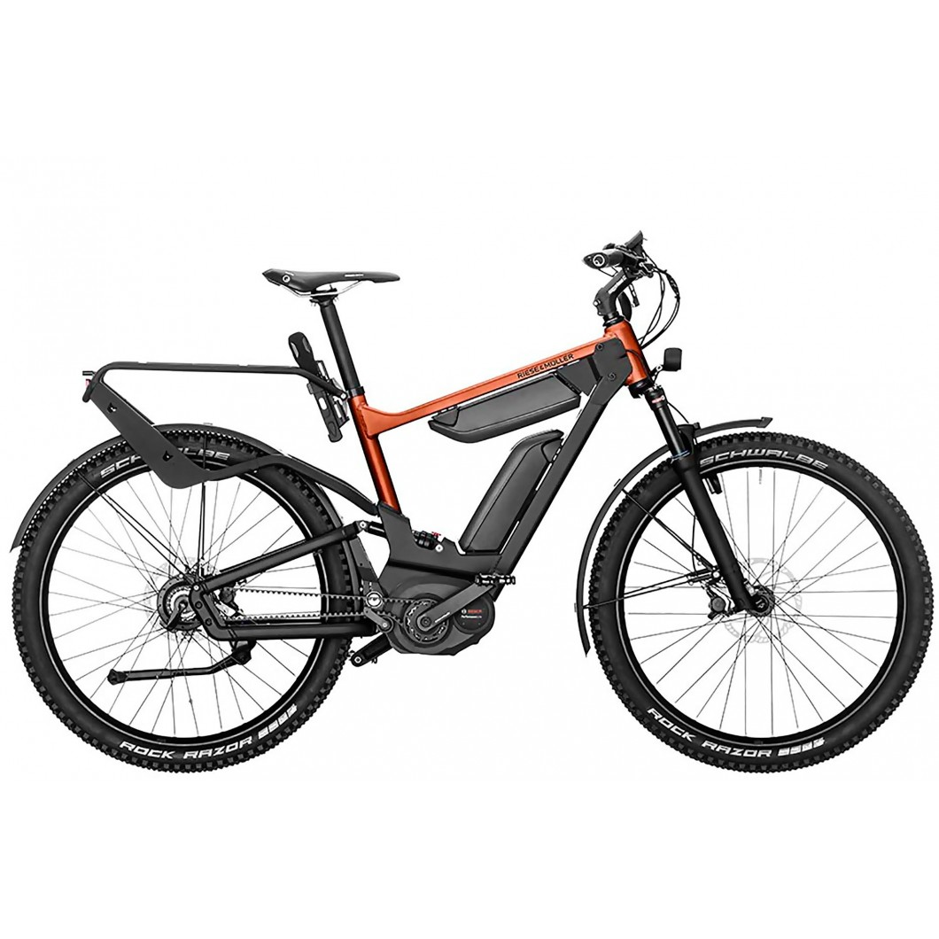 Vélo électrique haut de gamme tout-suspendu Riese & Muller DELITE GX Rohloff 2019
