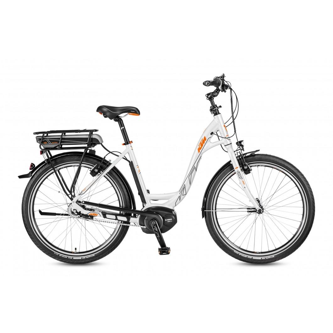 """Vélo électrique KTM MACINA BOLD 8 A5 26"""" 2017"""