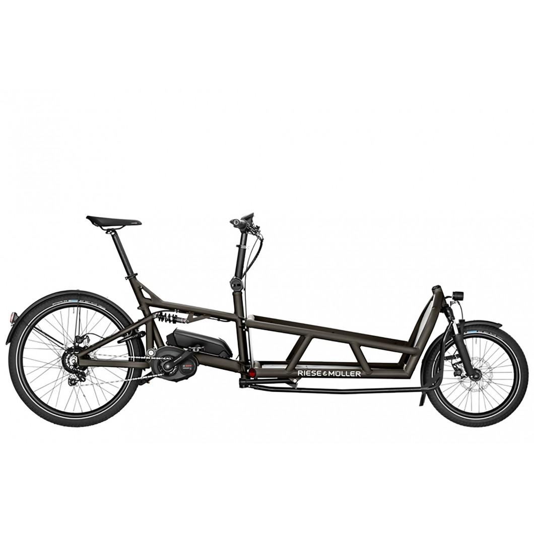 Biporteur électrique tout-suspendu Riese & Muller Load 75 Vario 2019