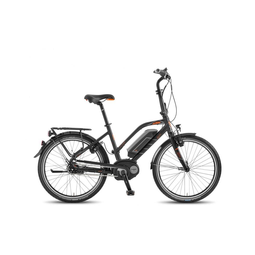 """Vélo électrique KTM MACINA COMPACT 8 A4 24"""" 2017"""