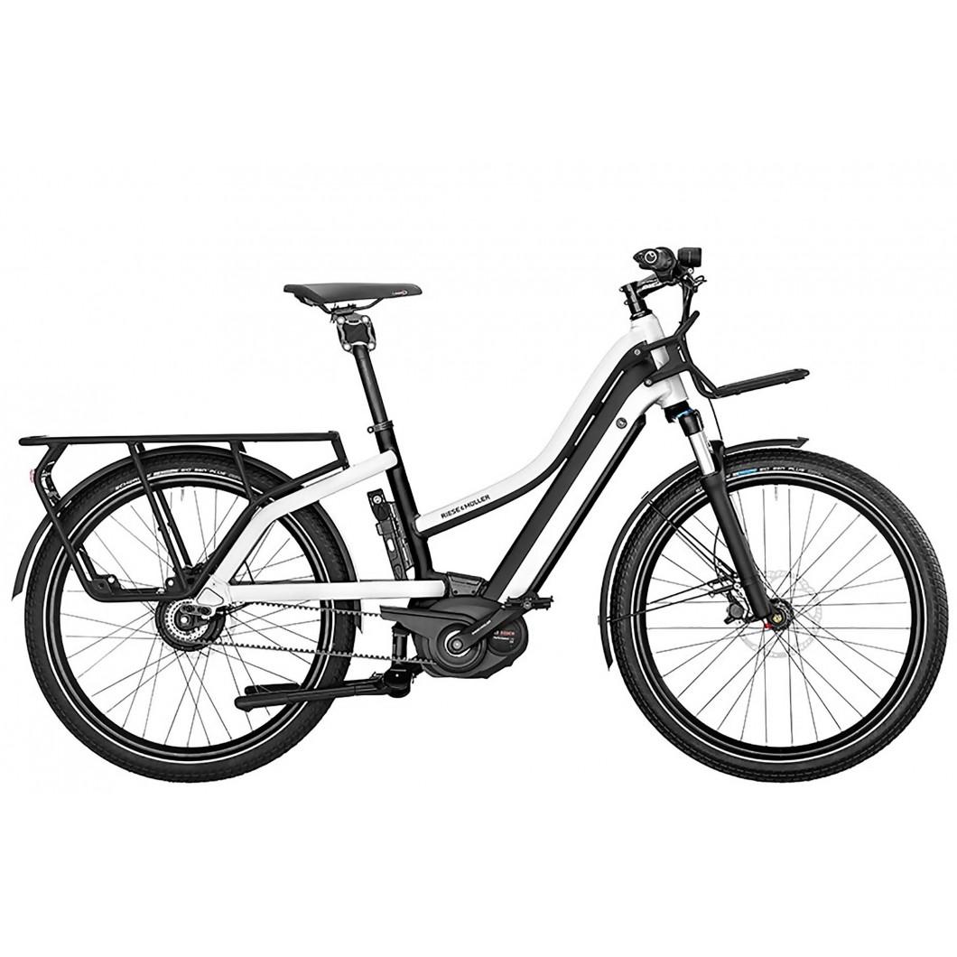 Vélo électrique longtail Riese & Muller Multicharger Mixte GX Touring HS 2019