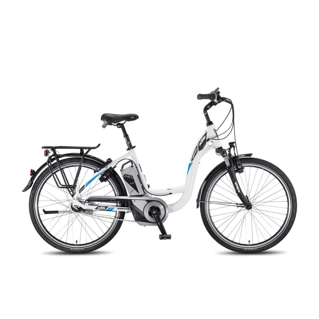 """Vélo électrique KTM AMPARO 8M RT 26"""" 2017"""