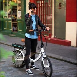 Vélo électrique pliant O2FEEL PEPS BAS N3 2017 VÉLO ÉLECTRIQUE PLIANT