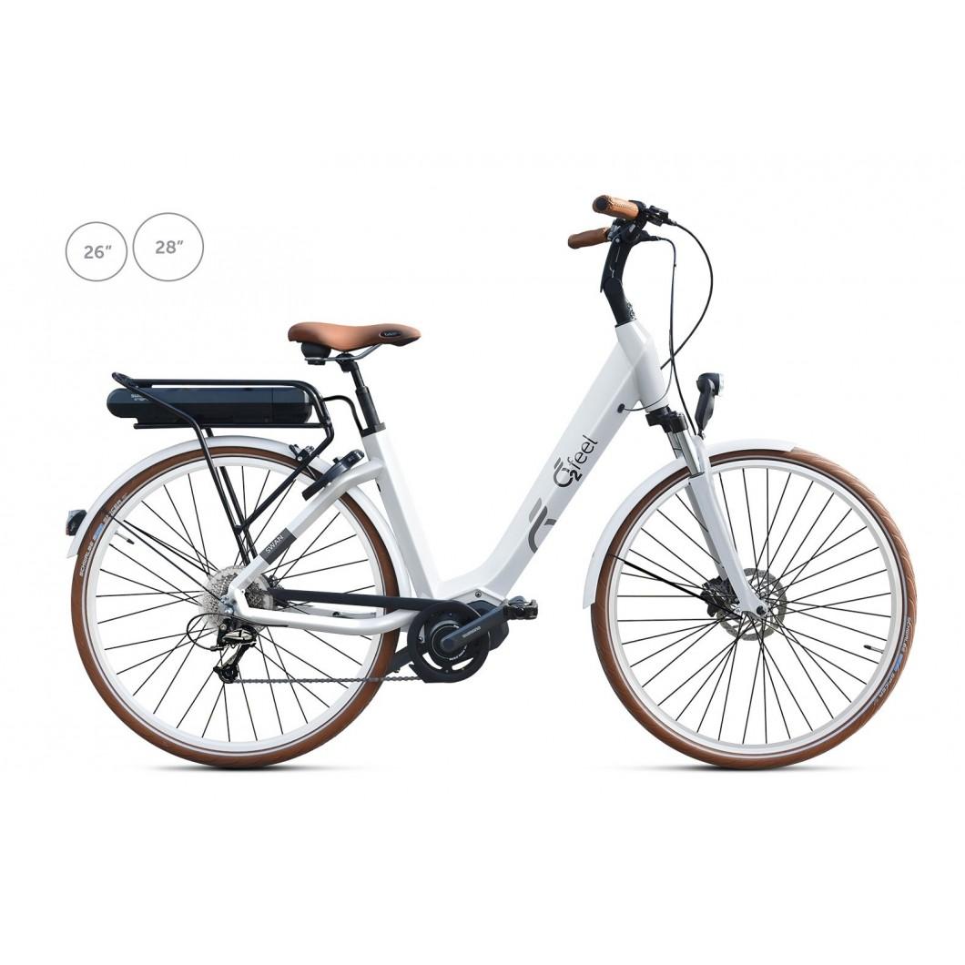 Vélo électrique o2feel SWAN DEORE 2017