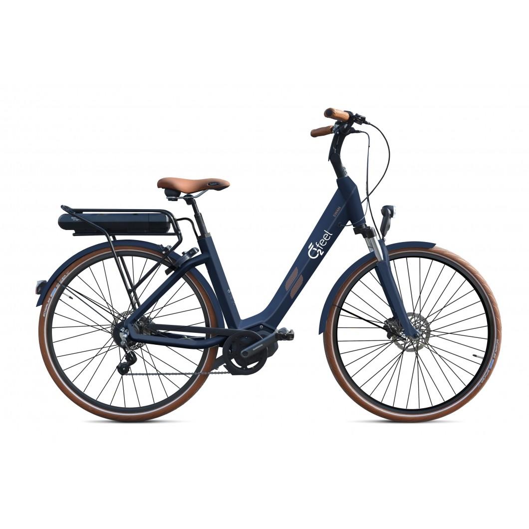 Vélo électrique o2feel SWAN Di2 ALFINE 8 2017