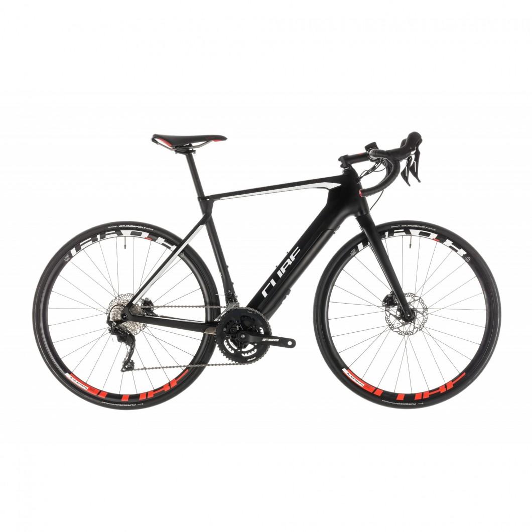 VÉLO ROUTE ÉLECTRIQUE CUBE Agree Hybrid C:62 Race Disc 2019 • Vélozen