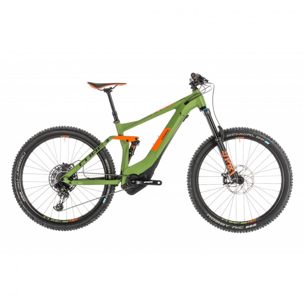 VTT ÉLECTRIQUE CUBE Stereo Hybrid 140 Race 500 27.5 2019 • Vélozen