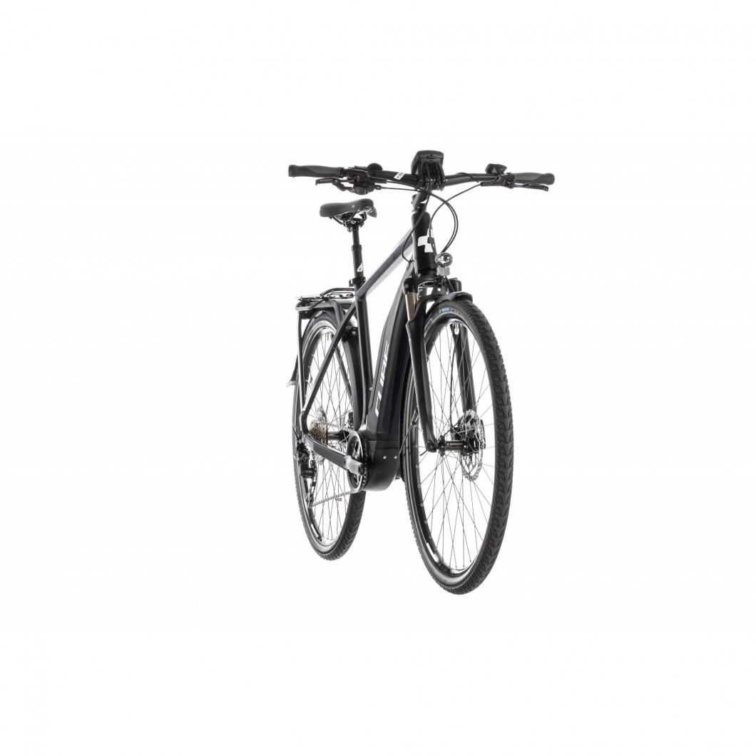 VÉLO ÉLECTRIQUE CHEMIN CUBE Touring Hybrid Pro 500 2019 • Vélozen