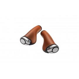 Poignées ergonomiques cuir Brooks GP1 pour vélo électrique ACCESSOIRES VÉLO