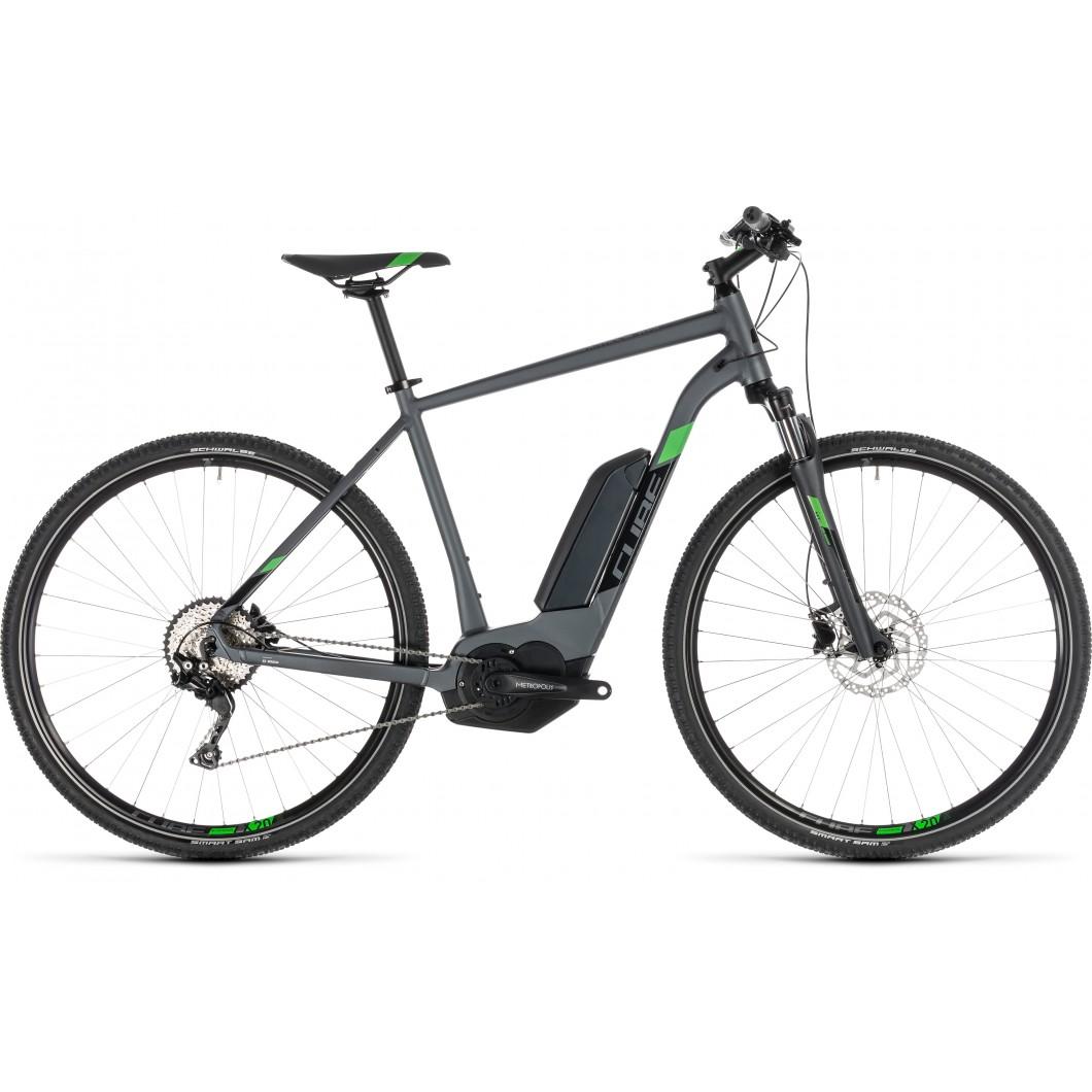 VTT ÉLECTRIQUE CUBE Cross Hybrid Pro 500 2019 • Vélozen