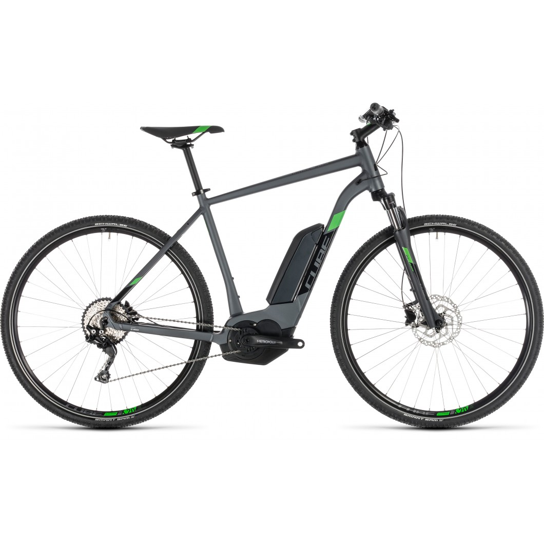 VTT ÉLECTRIQUE CUBE Cross Hybrid Pro 400 2019 • Vélozen
