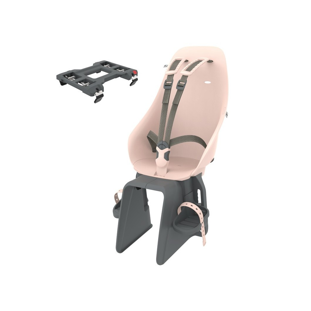 Siège enfant pour vélo électrique URBAN IKI fixation porte-bagages