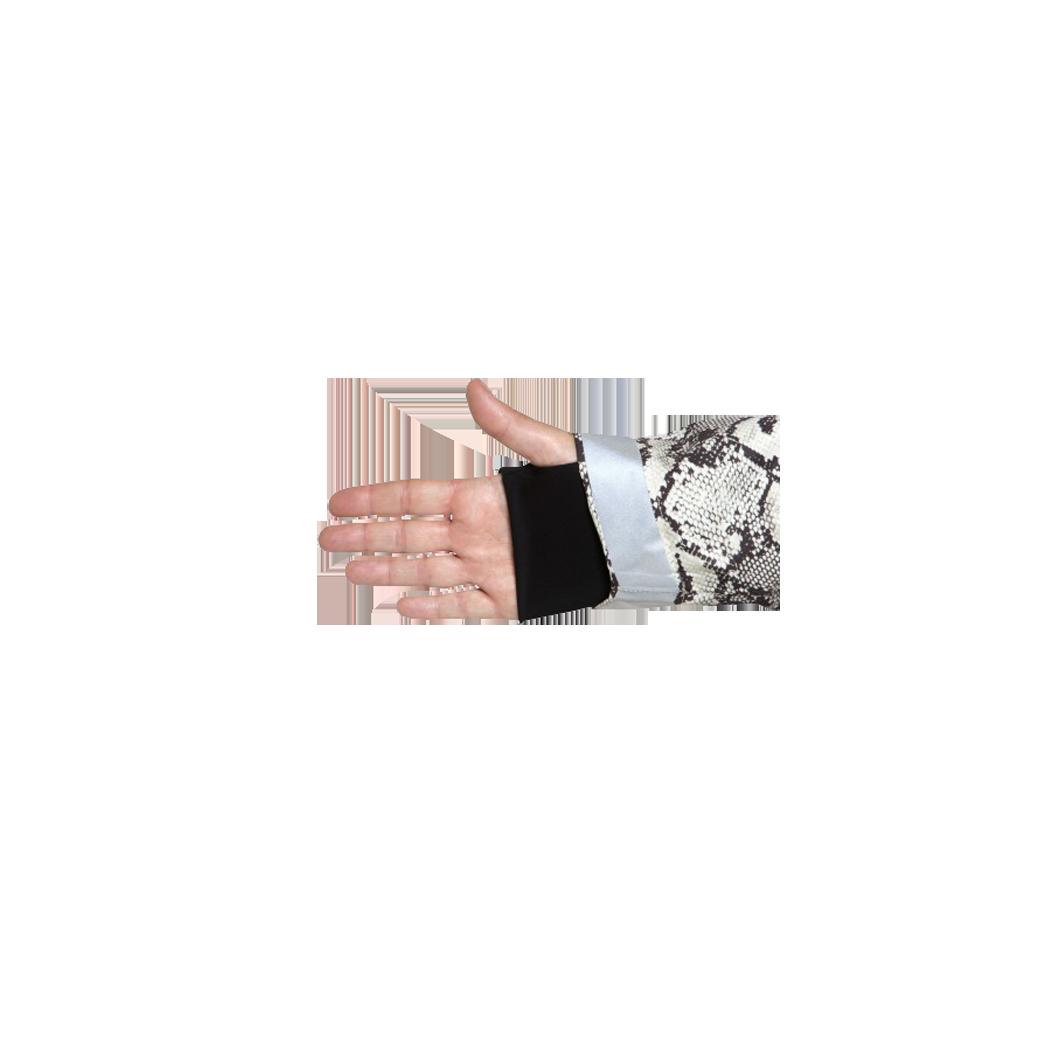 Poncho NOOC imprimé Python passage main et pouce