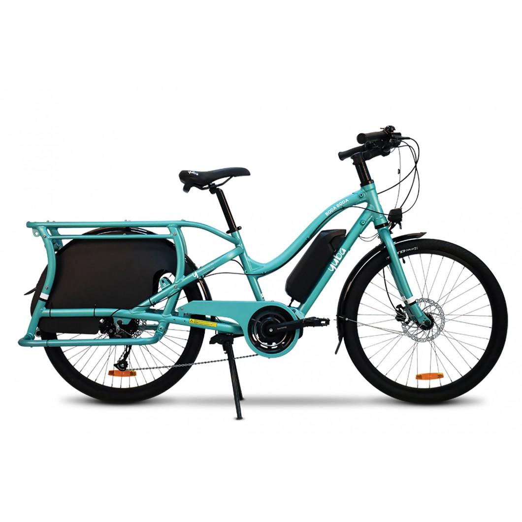 Vélo électrique longtail rallongé enfant YUBA Boda Boda Electric 2019