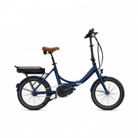 Vélo électrique pliant O2Feel Peps N7C E5000 2019 • Moteur central Shimano VÉLO ÉLECTRIQUE PLIANT
