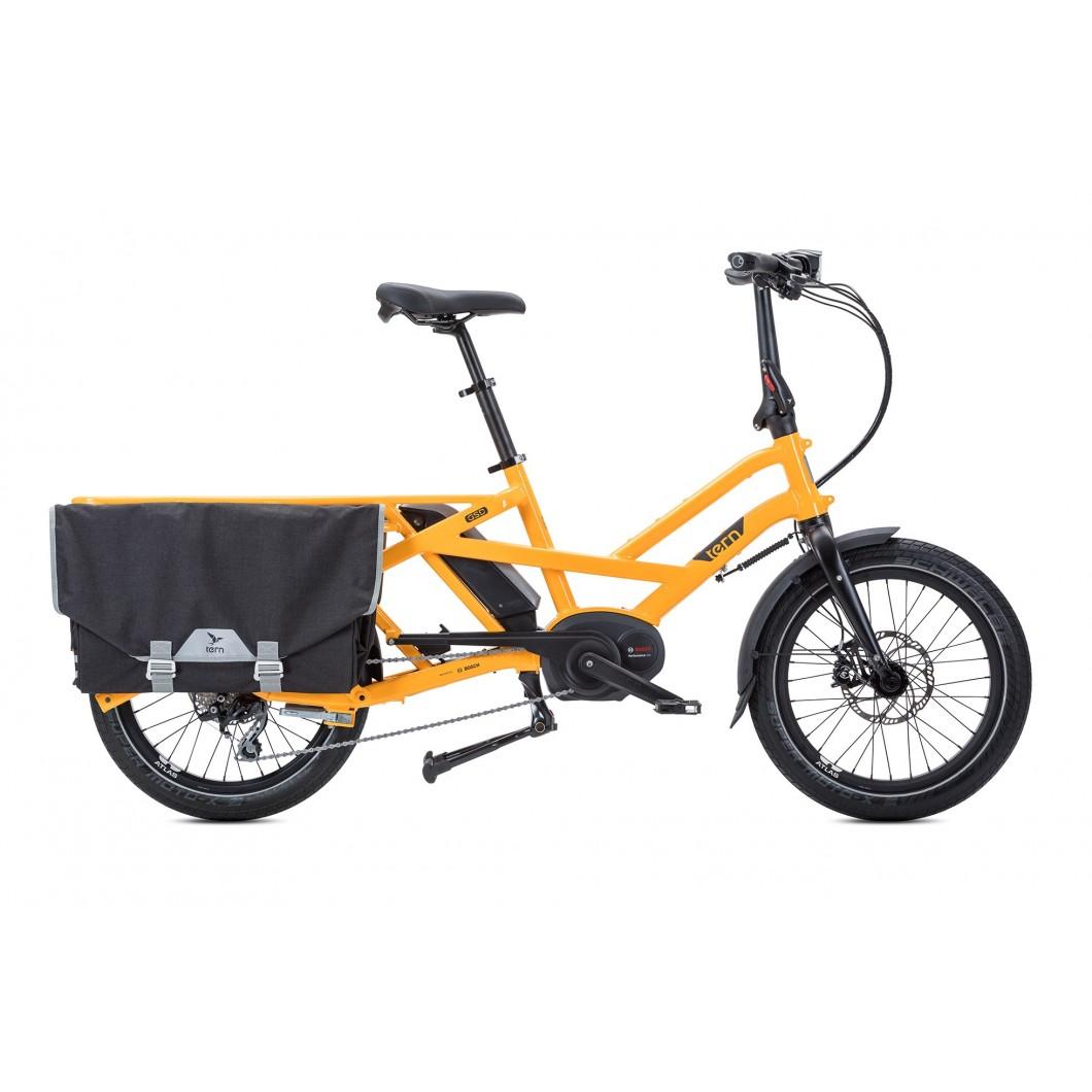 Vélo électrique cargo compact Tern GSD S10 2019