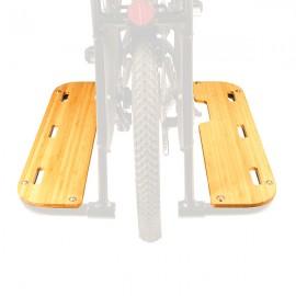 Reposes pieds SideBoards Bamboo Boda V3 VÉLO ÉLECTRIQUE CARGO