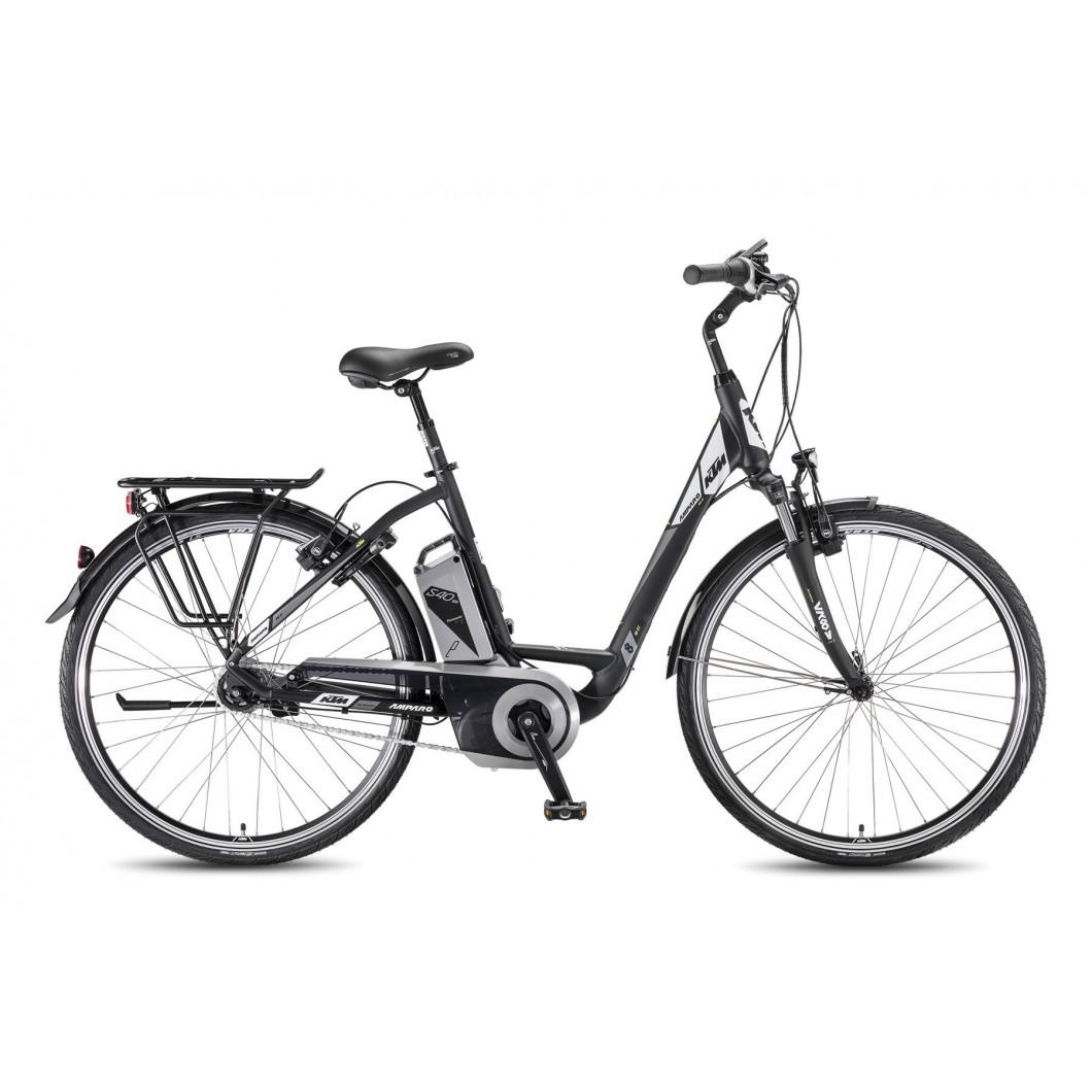 """Vélo électrique KTM AMPARO 8-LL 28"""" 540 2016"""