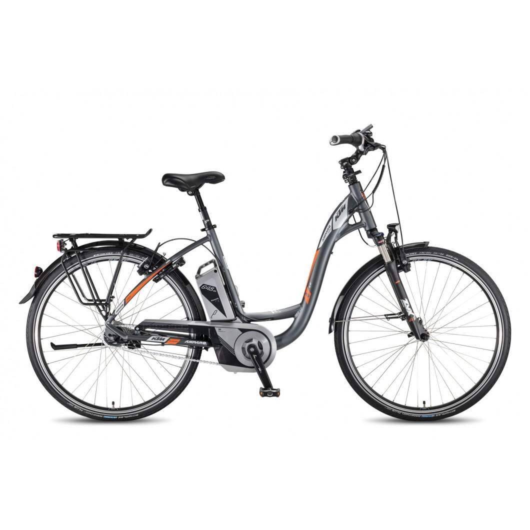"""Vélo électrique KTM AMPARO XL 8-RT 28"""" 648 2016"""