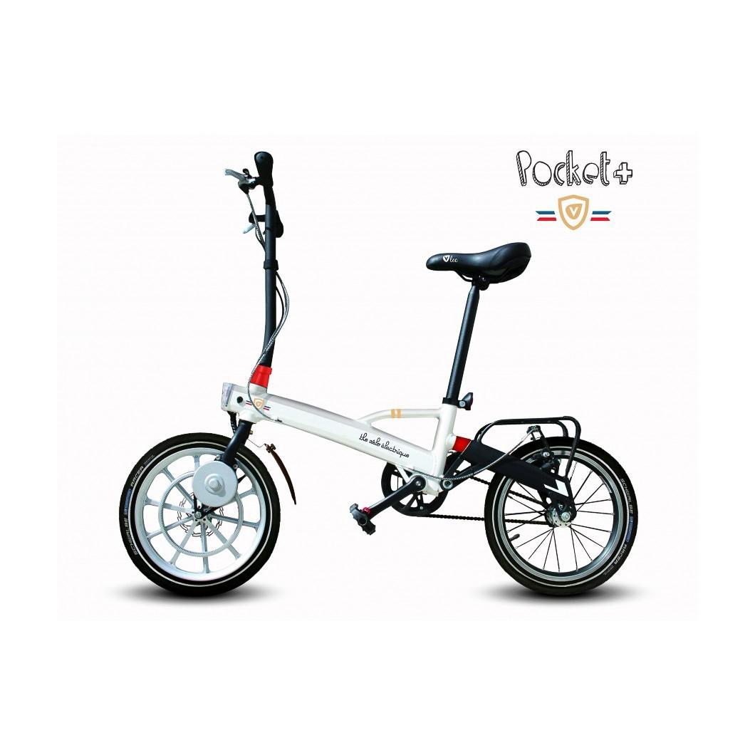 Vélo électrique pliant ultra léger & ultra compact V'Lec Pocket +
