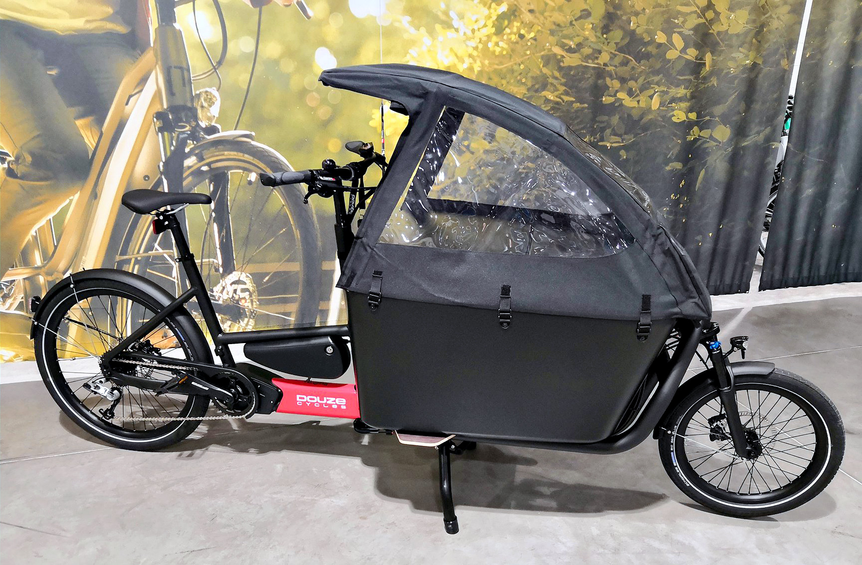 Vélo électrique biporteur DOUZE CYCLES G4e