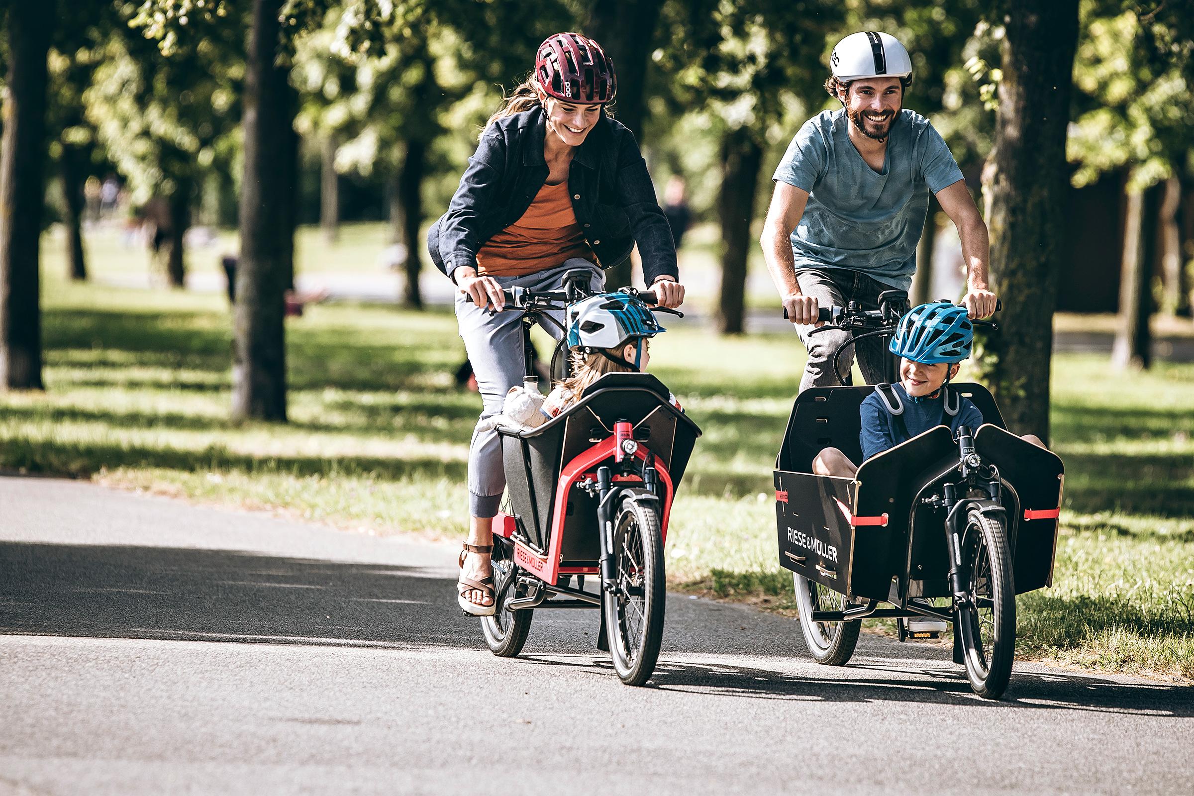 Vélo-électrique-cargo