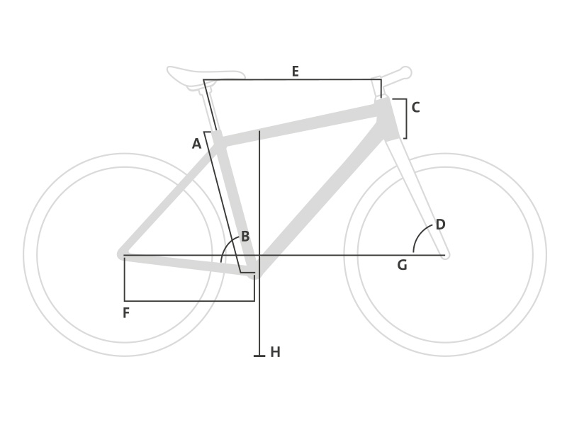 Guide des tailles vélos électriques Winora Sinus Tria 2018