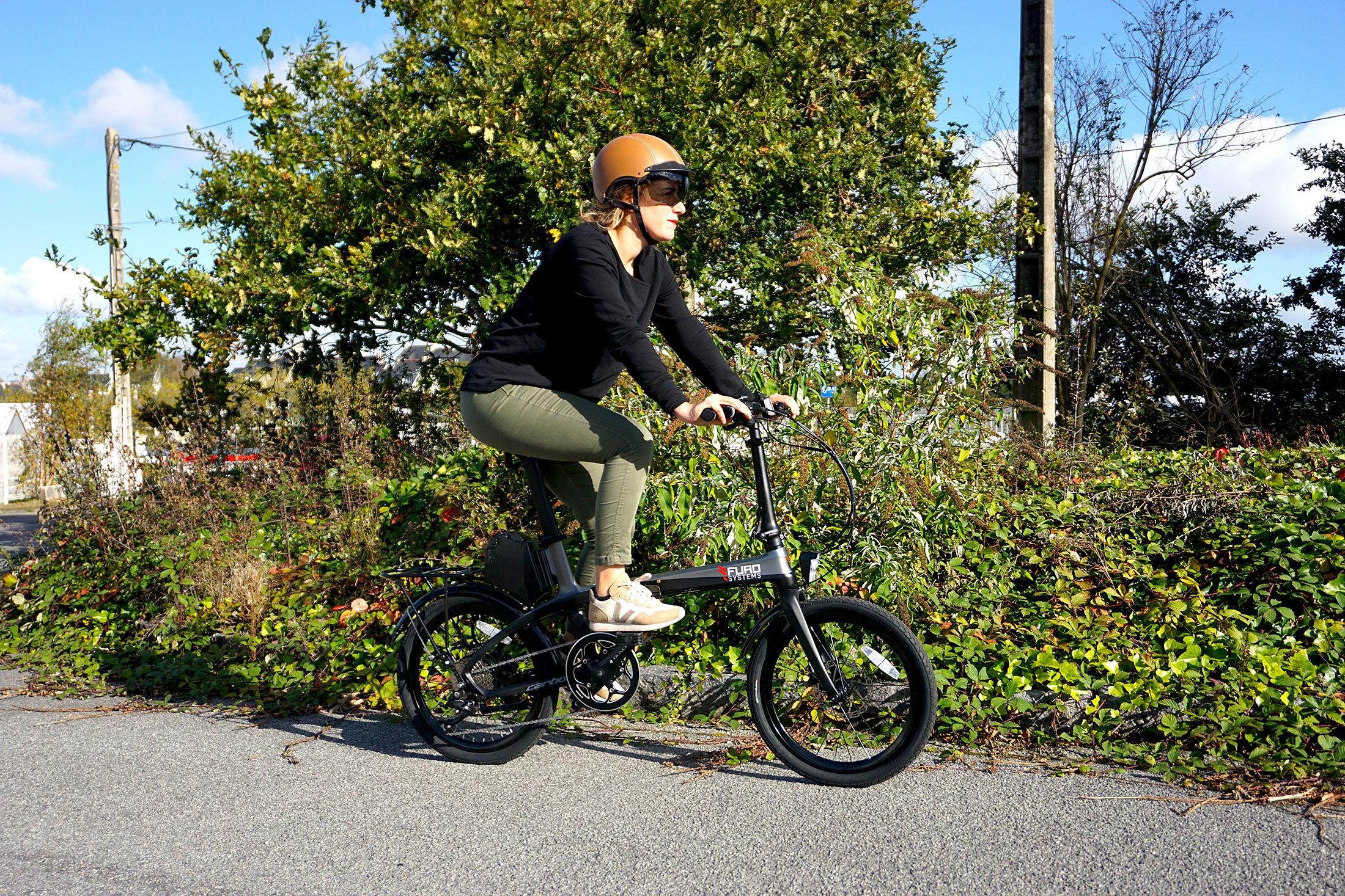 Vélo électrique pliant léger carbone FURO FX