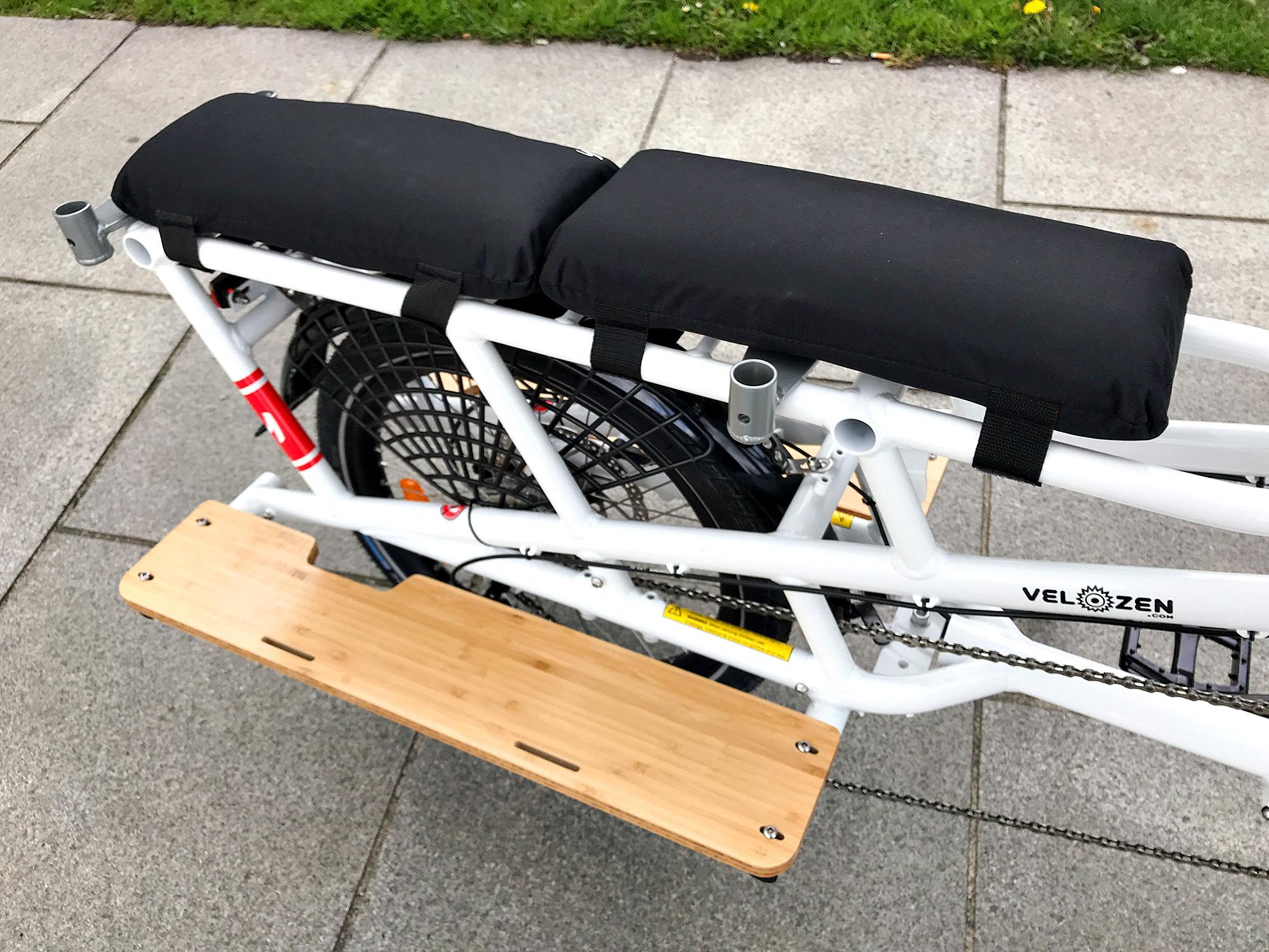 YUBA Spicy Curry Bosch - Vélo électrique cargo rallongé enfants