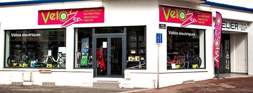 Vélo électrique & VTTAE LORIENT Vélozen