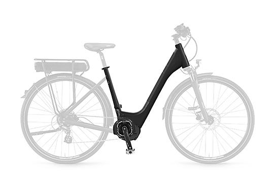 Vélo électrique cadre mixte ouvert bas