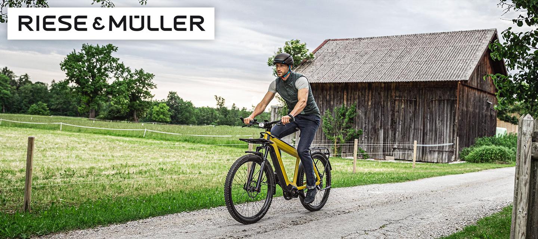 Vélo électrique RIESE & MULLER ••• Le haut de gamme du VAE